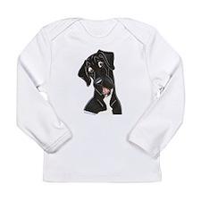Happy N B&W Long Sleeve Infant T-Shirt