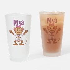 Little Monkey Mya Drinking Glass