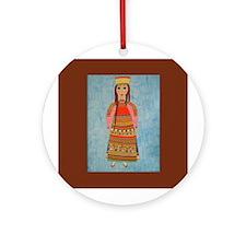Malina Ornament (Round)