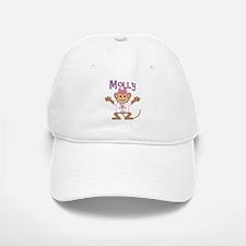 Little Monkey Molly Baseball Baseball Cap