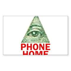 EYE PHONE HOME Decal