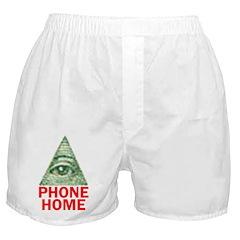 EYE PHONE HOME Boxer Shorts