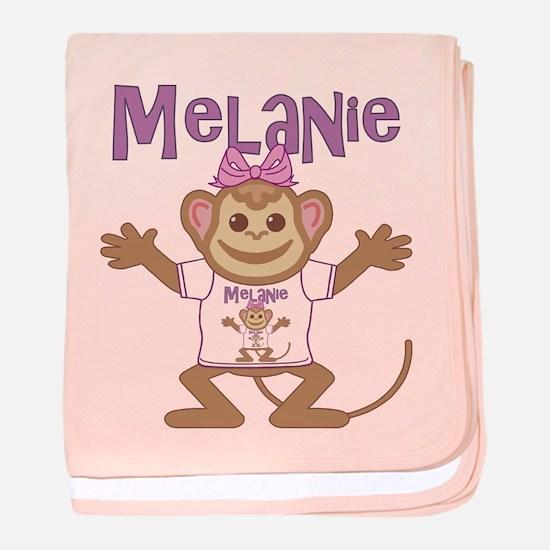 Little Monkey Melanie baby blanket