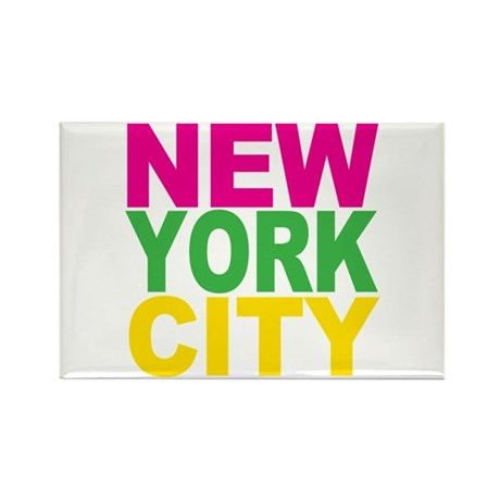 New York City Rectangle Magnet (10 pack)