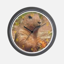 Prairie Dog Wall Clock