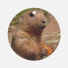 Prairie Dog Ornament (Round)