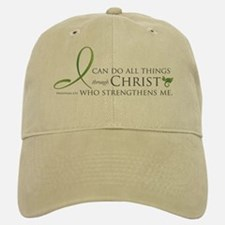 I can do all things through Christ Baseball Baseball Cap