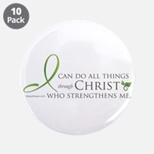 """I can do all things through Christ 3.5"""" Butto"""