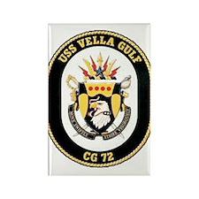 USS Vella Gulf CG-72 Rectangle Magnet