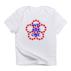 WE ARE ONE V Infant T-Shirt