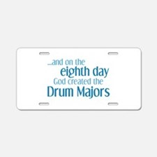 Drum Major Creation Aluminum License Plate