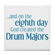 Drum Major Creation Tile Coaster