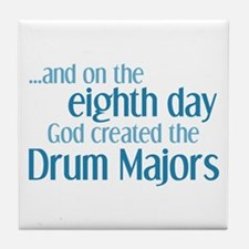 Drum Major Creation Tile Coaster