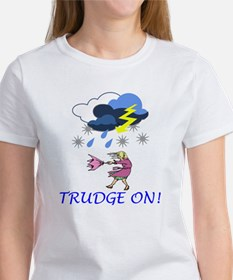 Trudge On! Women's Classic White T-Shirt