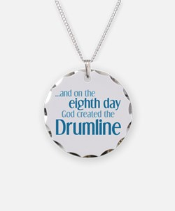 Drumline Creation Necklace Circle Charm