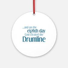 Drumline Creation Ornament (Round)