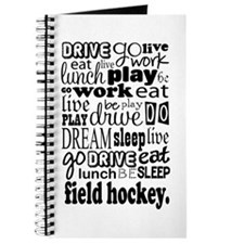 Field Hockey Gift Journal