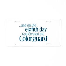 Colorguard Creation Aluminum License Plate