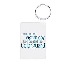 Colorguard Creation Keychains