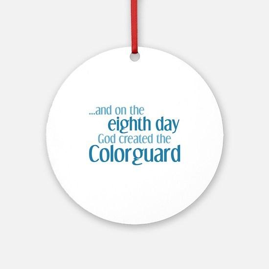 Colorguard Creation Ornament (Round)