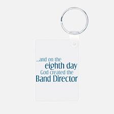 Band Director Creation Aluminum Photo Keychain