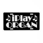 Organ Music License Plate Gift