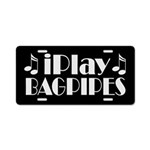 Bagpipes Music License Plate Gift