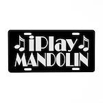 Mandolin Music License Plate Gift