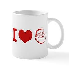 I Love Santa Mug