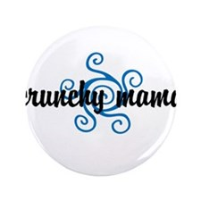 """Crunchy mama 3.5"""" Button (100 pack)"""
