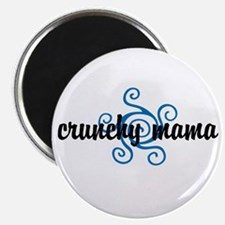 """Crunchy mama 2.25"""" Magnet (100 pack)"""