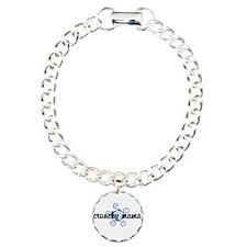 Crunchy mama Charm Bracelet, One Charm