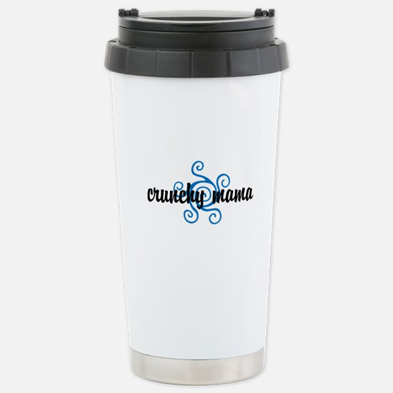 Crunchy mama Stainless Steel Travel Mug