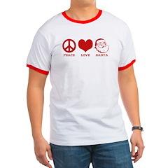 Peace Love Santa T