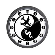 Yin Yang SoaP Wall Clock