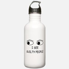 Cute Cop Water Bottle