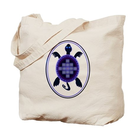 Courageous Turtle Tote Bag