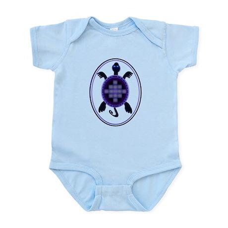 Courageous Turtle Infant Bodysuit