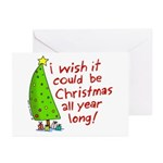 I wish it could be Christmas Greeting Cards (Pk of