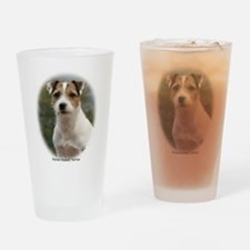 Parson Russell Terrier Drinking Glass