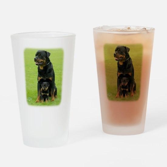 Rottweiler 9W025D-094 Drinking Glass
