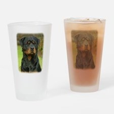 Rottweiler 9W044D-073 Drinking Glass