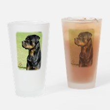 Rottweiler 9R028D-012 Drinking Glass