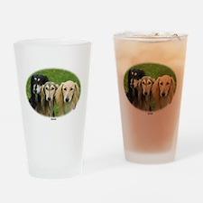 Saluki Drinking Glass