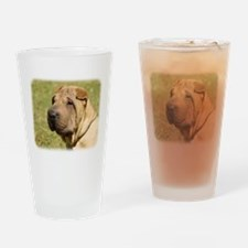 Shar Pei 9L039D-06 Drinking Glass