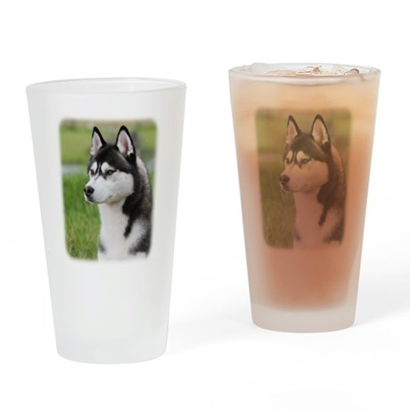 Siberian Husky 9Y570D-006 Drinking Glass