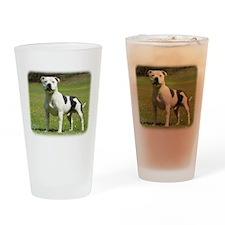 Staffordshire Bull Terrier 9F Drinking Glass