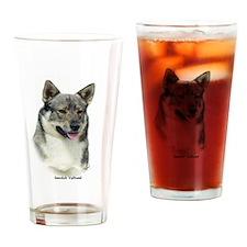 Swedish Vallhund 9K1D-14 Drinking Glass