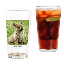 Swedish Vallhund Puppy 9Y165D-173 Drinking Glass