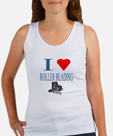 I Love Roller Blading Women's Tank Top